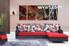 Living Room Art, 3 piece canvas wall art, city multi panel canvas, night group canvas, city canvas wall art