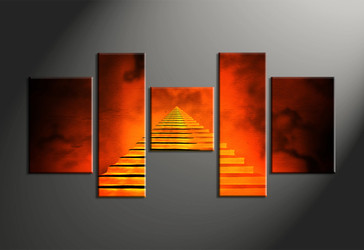 Home Wall Decor, 5 piece canvas art prints, abstract wall decor, abstract wall art, modern photo canvas