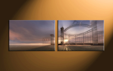 home decor, 2 Piece canvas wall decor, scenery pictures, scenery canvas art, modern artwork