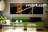 Living Room Art, 3 piece canvas wall art, night canvas print, city multi panel canvas, bridge art