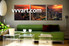 living room group canvas, 3 Piece huge canvas art, buildings multi panel art, scenery wall art, city huge pictures