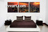 bedroom wall decor, 3 piece pictures, city canvas wall art, scenery huge pictures, city light pictures