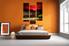 Bedroom Decor, 3 Piece Wall Art, city wall art, city canvas print, nature wall art, city landscape huge pictures