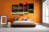 Bedroom Decor, 4 Piece Wall Art, city wall art, city canvas print, nature wall art, city landscape huge pictures