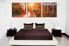 bedroom decor, 3 Piece Wall Art, autumn canvas art prints, forest multi panel art, landscape canvas photography
