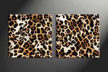 home decor, 2 piece canvas art prints, wildlife canvas print, wild art,  animal huge pictures