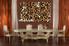 dining room wall decor, 3 Piece Wall Art, wild multi panel art, leopard wall art, animal large canvas