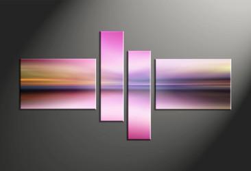 Home Decor, 4 piece canvas art prints, abstract multi panel art, abstract large canvas, abstract art