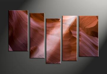 Home Decor, 5 piece canvas art prints, landscape canvas print, sunshine canvas photography, landscape wall art