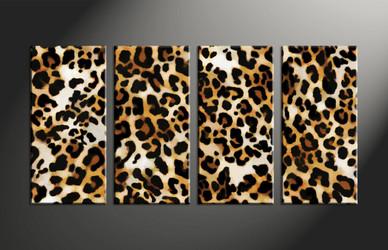 Home Wall Decor,4 piece canvas art prints, wildlife large pictures, wildlife artwork, wildlife wall art