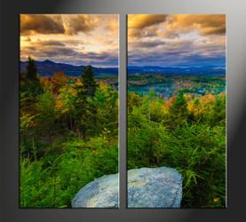 home décor, 2 piece canvas art prints, mountain canvas art prints, scenery huge canvas art, landscape canvas wall art