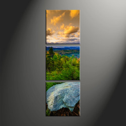 home décor, 3 piece group canvas, mountain canvas art prints, scenery huge canvas art, landscape photo canvas