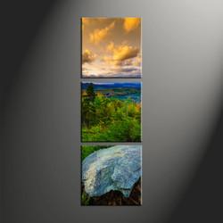home décor, 3 piece group canvas, mountain canvas art prints, scenery huge canvas art, landscape photo canvas