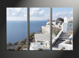 home decor, 3 piece canvas art prints, house canvas art prints, ocean huge canvas art, scenery pictures