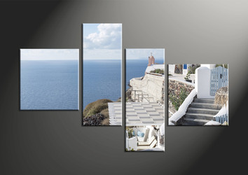 home decor, 4 piece pictures, house canvas art prints, ocean huge canvas art, scenery pictures