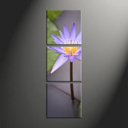 home décor, 3 piece canvas art prints, flower canvas art prints, floral huge canvas art, lily huge canvas art