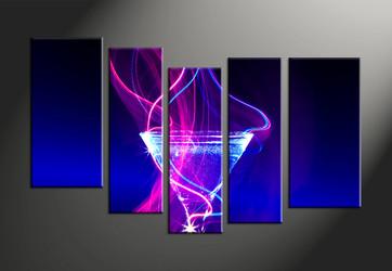 Home Decor, 5 piece canvas art prints, wine canvas print, wine canvas photography, wine artwork