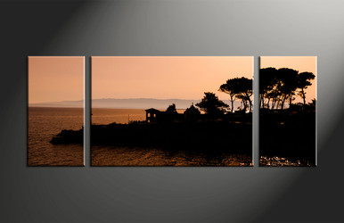 Home Decor, 3 piece canvas art prints, landscape artwork, scenery large canvas, landscape decor