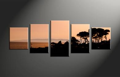 Home Decor, 5 piece canvas art prints, scenery multi panel canvas, landscape canvas photography, landscape pictures