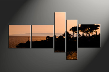 Home Wall Decor, 5 piece canvas art prints, landscape canvas print, landscape canvas photography, landscape art