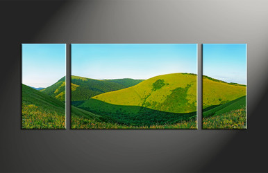 Home Decor, 3 piece canvas art prints, landscape canvas print, scenery canvas photography, scenery wall art