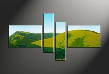 Home Decor, 4 piece canvas art prints, landscape canvas print, landscape pictures, scenery canvas print
