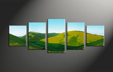 Home Decor, 5 piece canvas art prints, landscape canvas print, landscape canvas wall art, landscape canvas photography