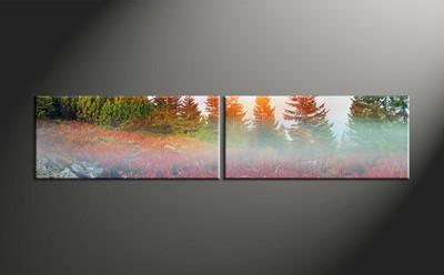 Home Wall Decor, 2 piece canvas art prints, scenery canvas art prints, landscape canvas print, landscape art