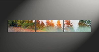 Home Decor, 3 piece canvas art prints, landscape artwork, landscape large canvas, scenery wall décor