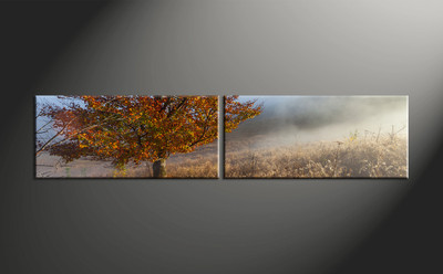 home decor, 2 piece canvas art prints, landscape canvas art prints, scenery huge canvas art, tree canvas wall art