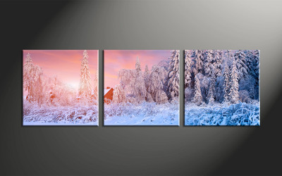 home decor, 3 piece canvas art prints, scenery multi panel art, landscape large canvas, nature large pictures