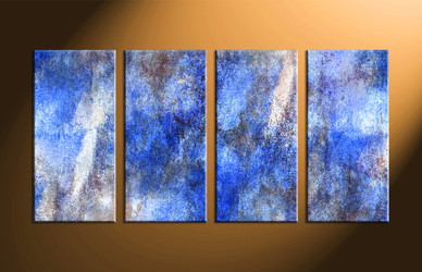 Home Decor, 4 piece canvas art prints, abstract group canvas, abstract multi panel art, abstract large pictures