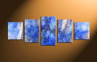 Home Wall Decor, 5 piece canvas art prints, abstract canvas print, abstract large pictures, abstract canvas wall art