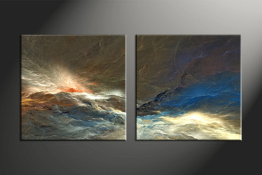 Home Wall Decor, 2 piece canvas art prints, abstract multi panel canvas, abstract large pictures, abstract pictures