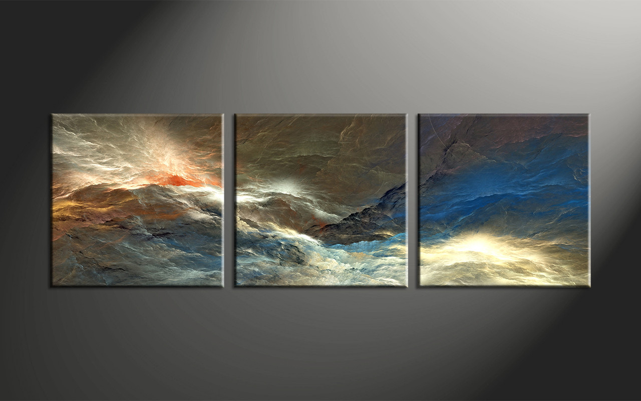 abstract canvas wall art 3 Piece Colorful Abstract Canvas Artwork abstract canvas wall art