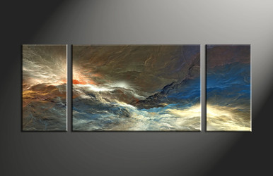 f8b96ba89c3 3 Piece Abstract Wall Art