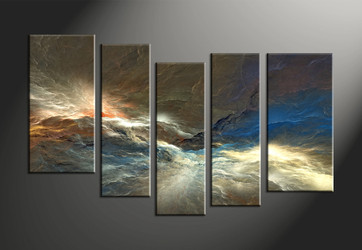 Home Decor, 5 piece canvas art prints, abstract canvas print, abstract canvas photography, abstract art