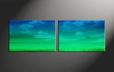 Home Decor, 2 piece canvas art prints, abstract multi panel art, abstract large canvas, abstract art