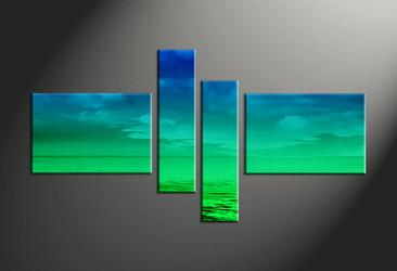 Home Wall Decor, 4 piece canvas art prints, abstract large pictures, abstract art, abstract canvas wall art