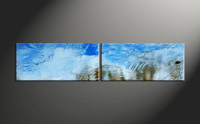 Home Decor, 2 piece canvas art prints, abstract wall art, abstract wall decor, abstract huge pictures