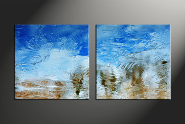 Home Decor, 2 piece canvas art prints, abstract canvas art prints, abstract artwork, abstract decor