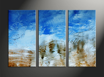 Home Decor, 3 piece canvas art prints, abstract canvas print, abstract multi panel canvas