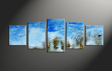 Home Decor, 5 piece canvas art prints, abstract large pictures, abstract photo canvas, abstract artwork