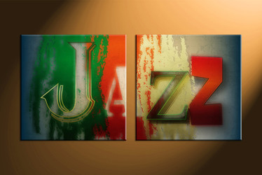 home decor, 2 piece canvas art prints, abstract canvas art prints, music huge canvas art, jazz canvas wall art