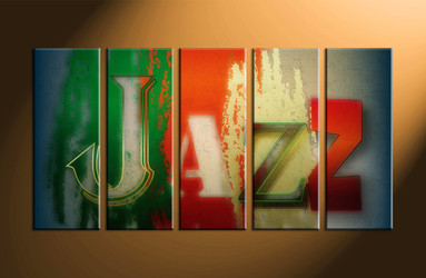 home decor, 5 piece canvas art prints, abstract canvas print, modern canvas photography, music art