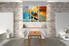 dining room art, 3 piece art, ocean large pictures, scenery multi panel canvas, oil paintings pictures