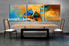 dining room art, 3 piece art, oil paintings large pictures, ocean multi panel canvas, scenery pictures