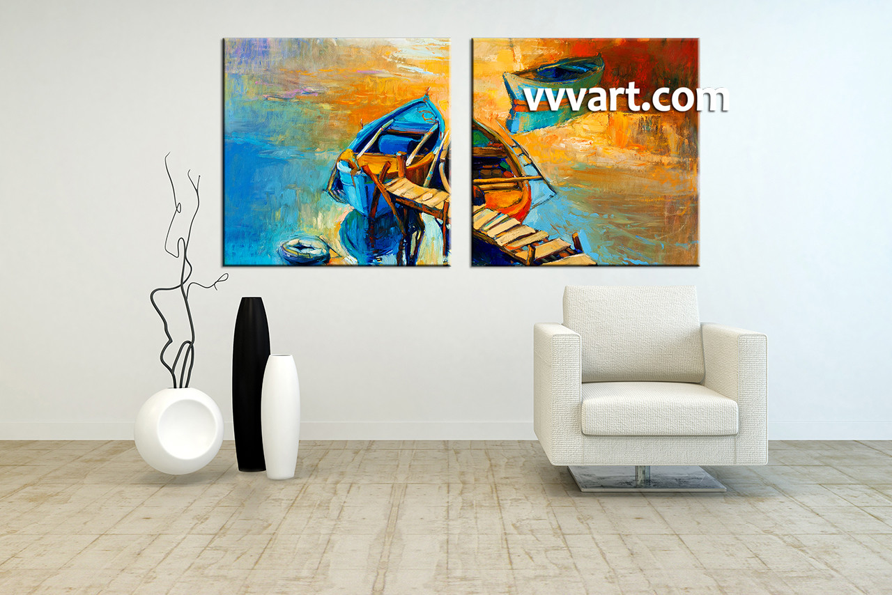 2 Piece Canvas Wall Art