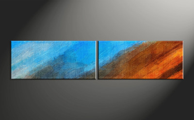 Home Wall Decor, 2 piece canvas wall art, abstract canvas wall art, abstract wall decor, abstract wall art