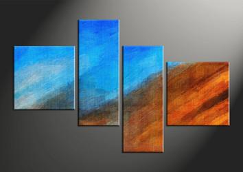 Home Decor, 4 piece canvas wall art, abstract pictures, abstract wall decor, abstract art